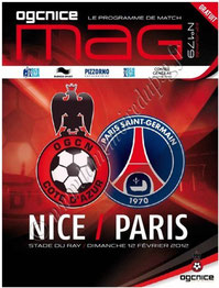 2012-02-12  Nice-PSG (23ème L1, OGCNice mag N°179)