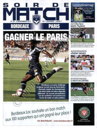 2011-11-06  Bordeaux-PSG (13ème L1, Soir de match N°23)