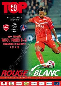 2012-05-06  Valenciennes-PSG (36ème L1, Rouge et Blanc)