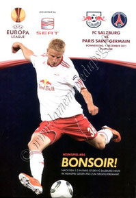 2011-12-01  FC Salzburg-PSG (5ème C3, Programme officiel)
