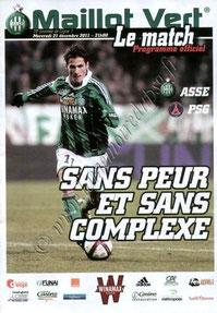 2011-12-21  Saint-Etienne-PSG (19ème L1, Maillot vert)