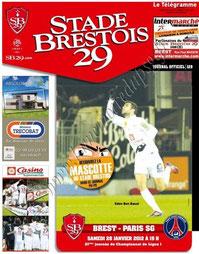 2012-01-28  Brest-PSG (21ème L1, Stade Brestois N°129)
