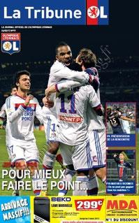 2012-02-25  Lyon-PSG (25ème L1, La Tribune OL N°91)