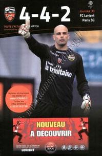 2012-05-20  Lorient-PSG (38ème L1, 4-4-2)