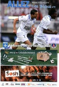 2012-04-15  Auxerre-PSG (32ème L1, Allez les Bleus N°16)