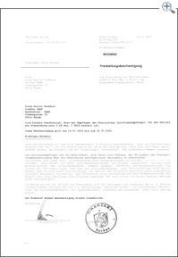 MartinBau - Freistellungsbescheinigung