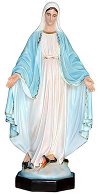 Our Lady of Grace statue cm. 47