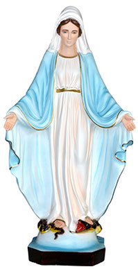 Our Lady of Grace statue cm. 85