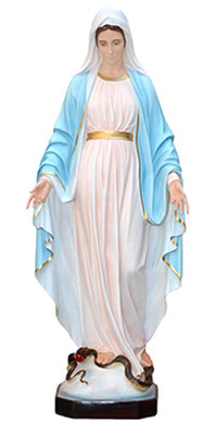 Our Lady of Grace statue cm. 180