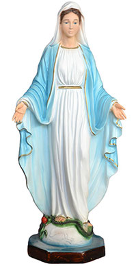 Our Lady of Grace statue cm. 40