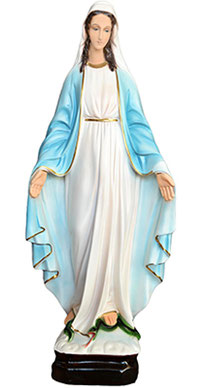 Our Lady of Grace statue cm. 63
