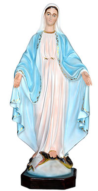 Our Lady of Grace statue cm. 105