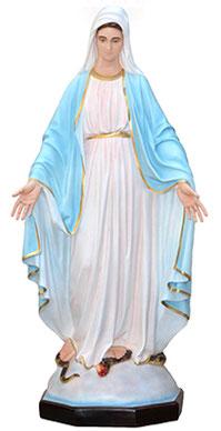 Our Lady of Grace statue cm. 160