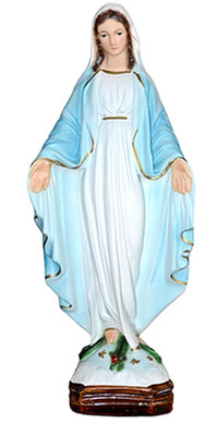 Our Lady of Grace statue cm. 30
