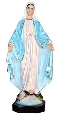 Our Lady of Grace statue cm. 105