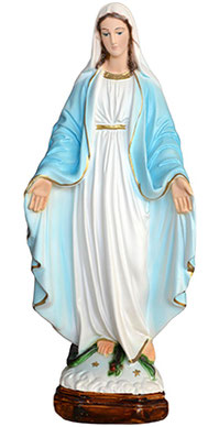 Our Lady of Grace statue cm. 35