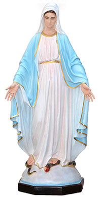 Our Lady of Grace statue cm. 160