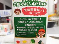 メイグルト緑黄色野菜とりんご 乳酸菌飲料 横から
