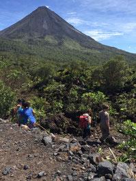 Combo: Caminata Volcán Arenal + Canopy Los Cañones o Cabalgata y Los Lagos Termales
