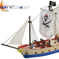 Piraten Schiff Bausatz