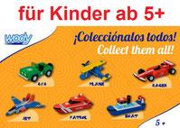 Bausatz für Kinder ab 5 Jahren zum selber basteln und bemalen