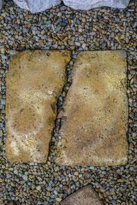 claracarat Der zerbrochene Stein - The broken stone