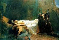 William de Leftwich Dodge,  Death of Minnehaha.,