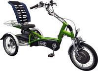 Van Raam Easy Rider Junior Dreirad und Elektro-Dreirad für Kinder und Jugendliche - Shopping-Dreirad 2017