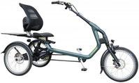 Van Raam Easy Rider Dreirad und Elektro-Dreirad für Erwachsene - Shopping-Dreirad 2017