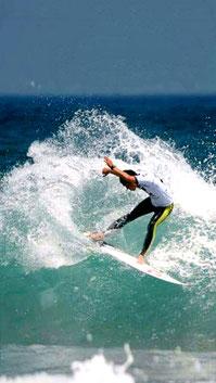 サーフィン画像・壁紙:Smart Phone用【CAN DOサーフィンスクール】福島県いわき市ウエストコースト(岩間海岸)