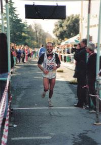 Cavalcata dei colli bertinoresi (1993). Arrivo.