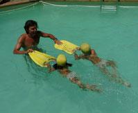 Cours de natation à domicile avec Pascal Loustaneau à la ciotat