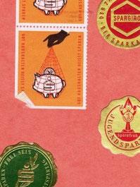 Weltspartags-Marken (Sticker)