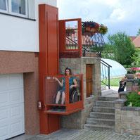 Senkrechtlift Alpin - Der Senkrechtlift für große Höhen