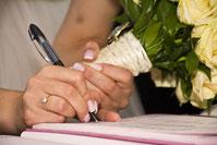 signature mariage pour création de site internet de mairie par e-cime web