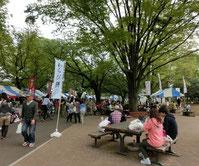 小金井公園では何かのイベントが
