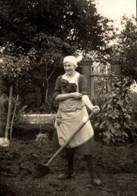 Hulda Bosse, geb. Beulich 1926, Foto: Nachlass K. Bosse