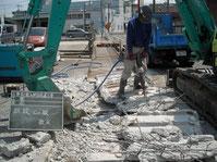 出入口 舗装工事写真3
