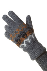 Fingerhandschuhe Natura anthrazit