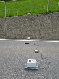 Analyse de murs en béton utilisant des méthodes de mesures non-destructrices