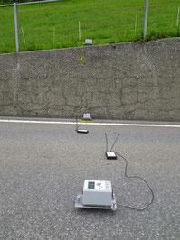Zustandserfassung von Betonmauern mittels zerstörungsfreiem Messverfahren