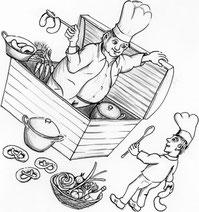 für die gedruckte Version der Kochkiste