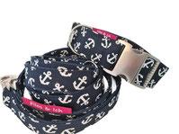 schönes Hundehalsband, Hundeleine, handmade Halsband und Leine, Set Hundeset, schönes Halsband, ausgefallene Leine, Dogfashion
