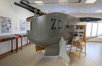 Nacelle du dirigeable semi-rigide Zodiac ZD 4
