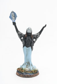Foto: Uwe Günzel - Altarfigur Madonna die Meeresgöttin - Weltkulturenmuseum