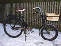 Neue Errungenschaft! Ein Bastert-Lastenrad