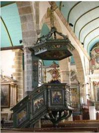 La Chaire à prêcher XVIIème siècle)