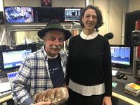 Radiosendung mit Helmut Wittmann und Helga Graef