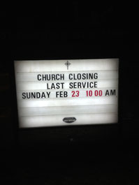 Too Many Churches Are For Sale