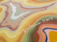 """Dieter Roth """"ein gerissener Hase"""" 1990 100 x 72 cm"""